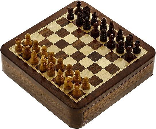 Shalinindia Juegos Juegos de ajedrez magnético de Viaje y Juguetes ...