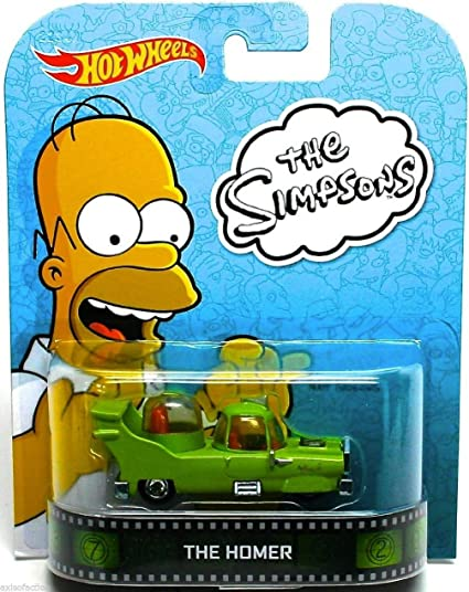Hot Wheels Retro Entertainment Diecast Vehicle The Homer by Hot Wheels