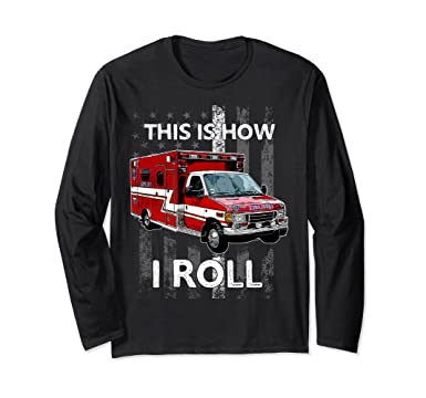 Emergency Services T shirts Long Sleeve  All sizes Firefighter Fire Dept