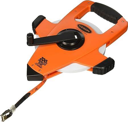 """KESON OTRS10200H 200 ft 1//2/"""" Blade Long Tape Measure Orange"""