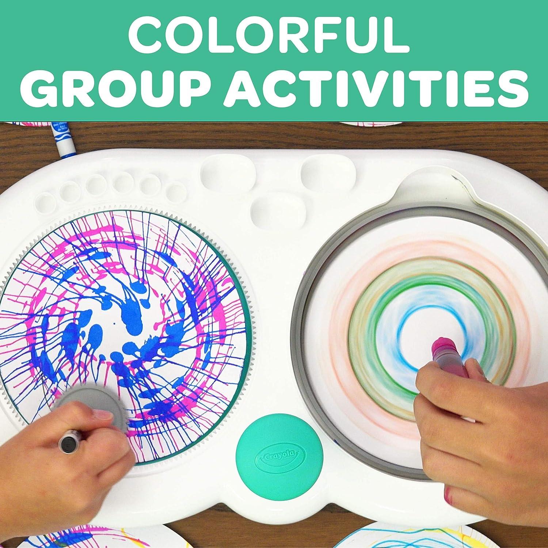 Crayola Spin & Spiral Art Station/