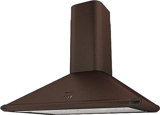 Mepamsa Perla Plus 90 V2 Campana aspirante decorativa de pared, cobre, 20 W, 55 Decibelios, 3 Velocidades: Amazon.es: Hogar