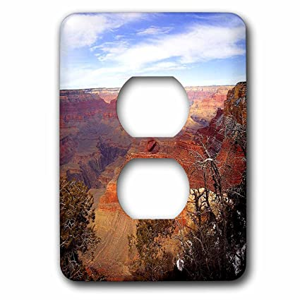 3dRose LSP_57600_6 Grand Canyon Arizona 2 Plug Outlet Cover - Outlet