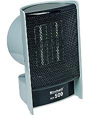 Einhell Heizlüfter KH 500 (500 W max. Heizleistung, PTC-Heizelement, 1 Heizstufe, autom. Abschaltung bei Überhitzung und Umkippen)