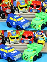 New Transformers Rescue Bots Salvage Optimus Chase Boulder