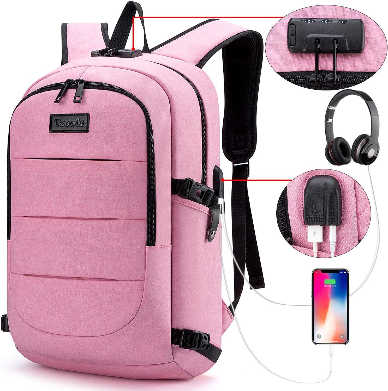 Tzowla Business Laptop Backpack Anti-Theft