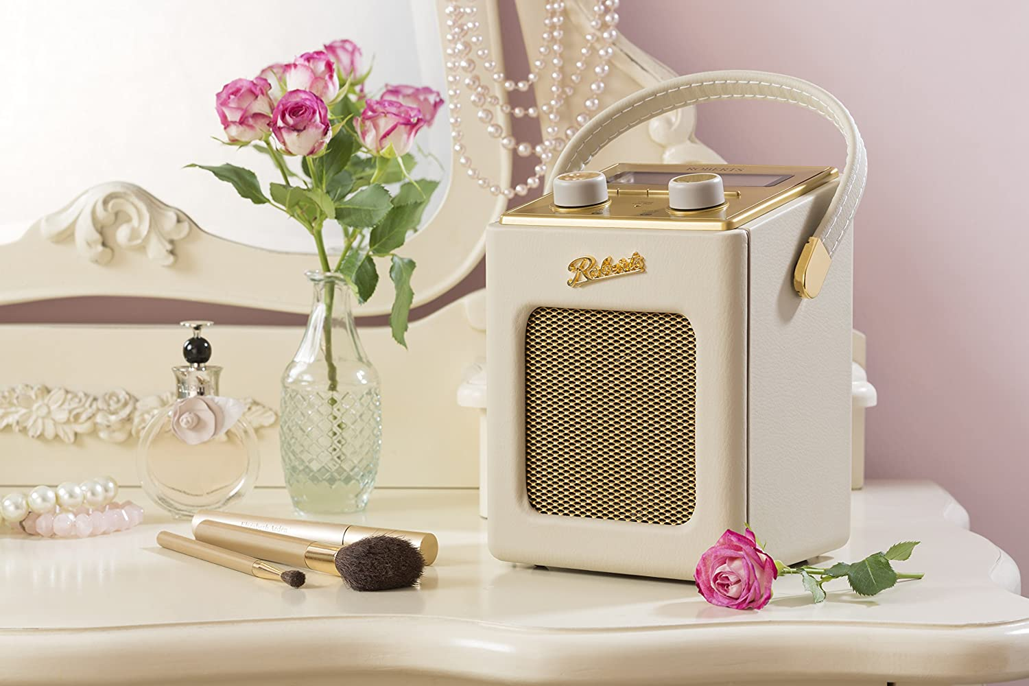 Roberts Revival Mini DAB/DAB+/FM Digital Radio Pastel Cream