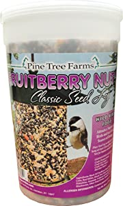 Pine Tree 8005 Fruit Berry Nut Classic Seed Log, 28-Ounce