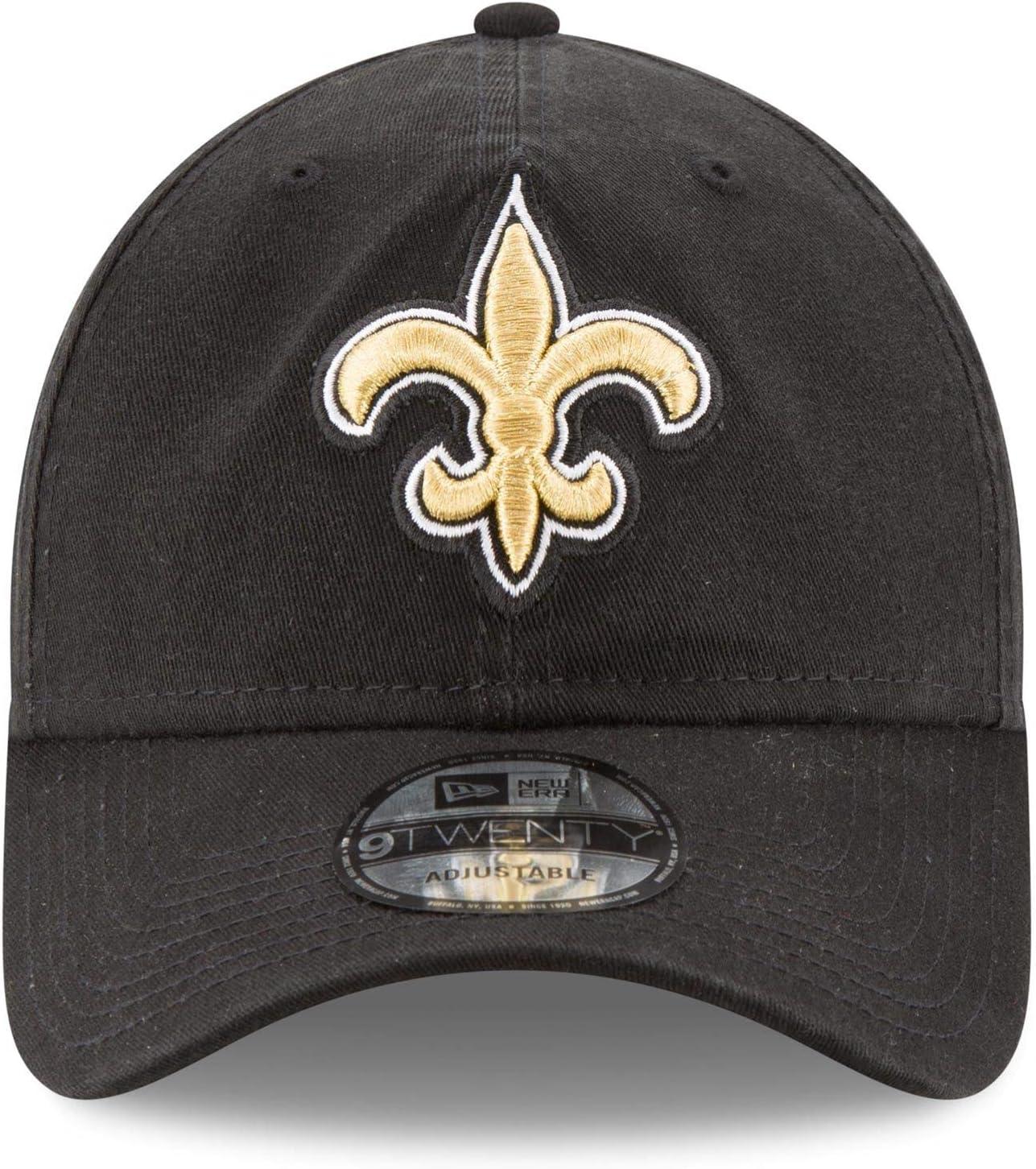 New Era New Orleans Saints 9TWENTY Core Black One Size Fits All
