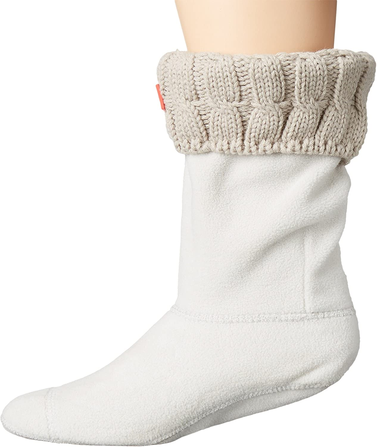 Hunter Womens 6 Stitch Cable Boot Sock Short