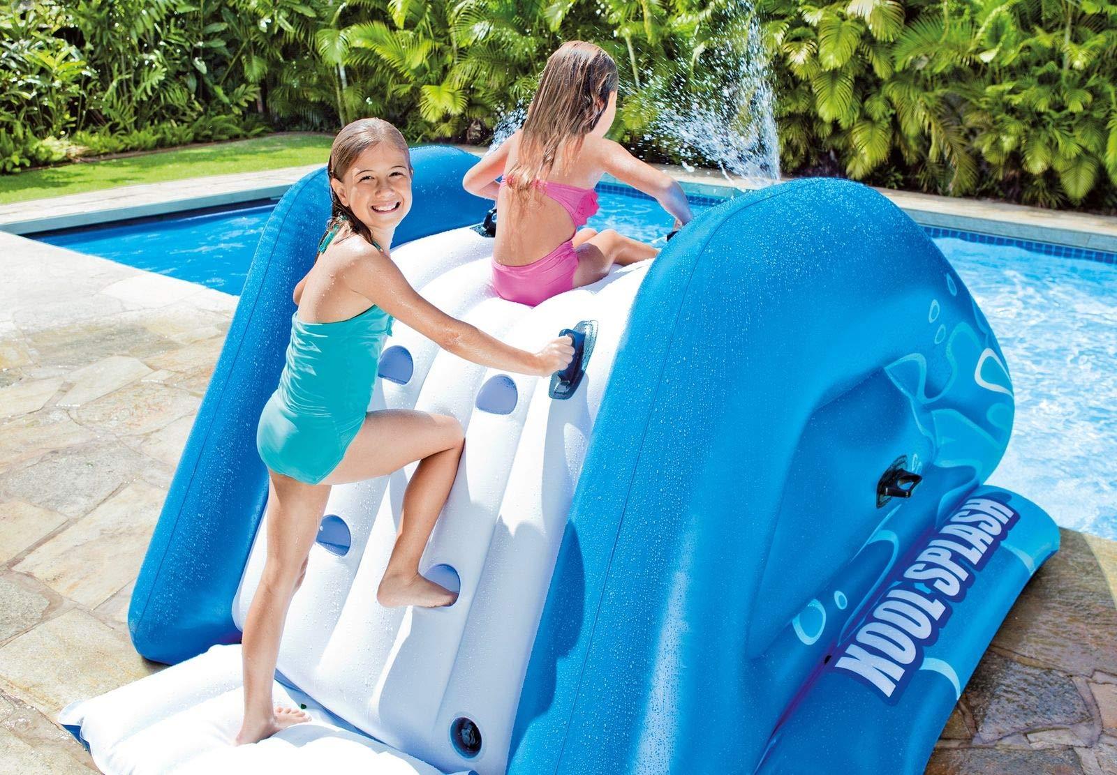 Alek...Shop Water Slide Accessory Play Swimming Pool Inflatable Splash Slide Kids Easy Fun Game Family Center Slide by Alek...Shop (Image #5)