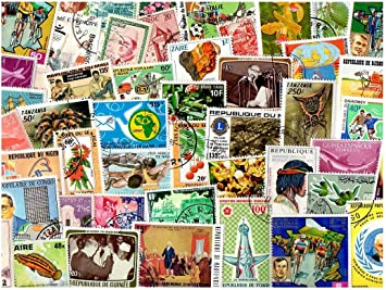 Central America 200 Different Stamps Collection Mixture Packet Stamps for Collectors