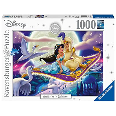 Disney Collectors Edition 1992 Aladdin Panorama Puzzle 1000 Piece Professional Soft Click Jigsaw Ages 12+: Toys & Games