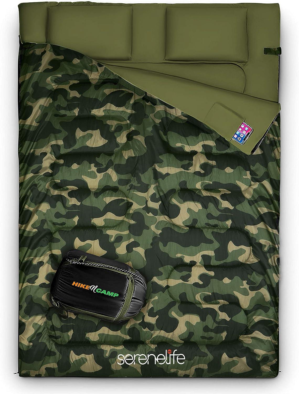 SereneLife 2 Person Sleeping Bag