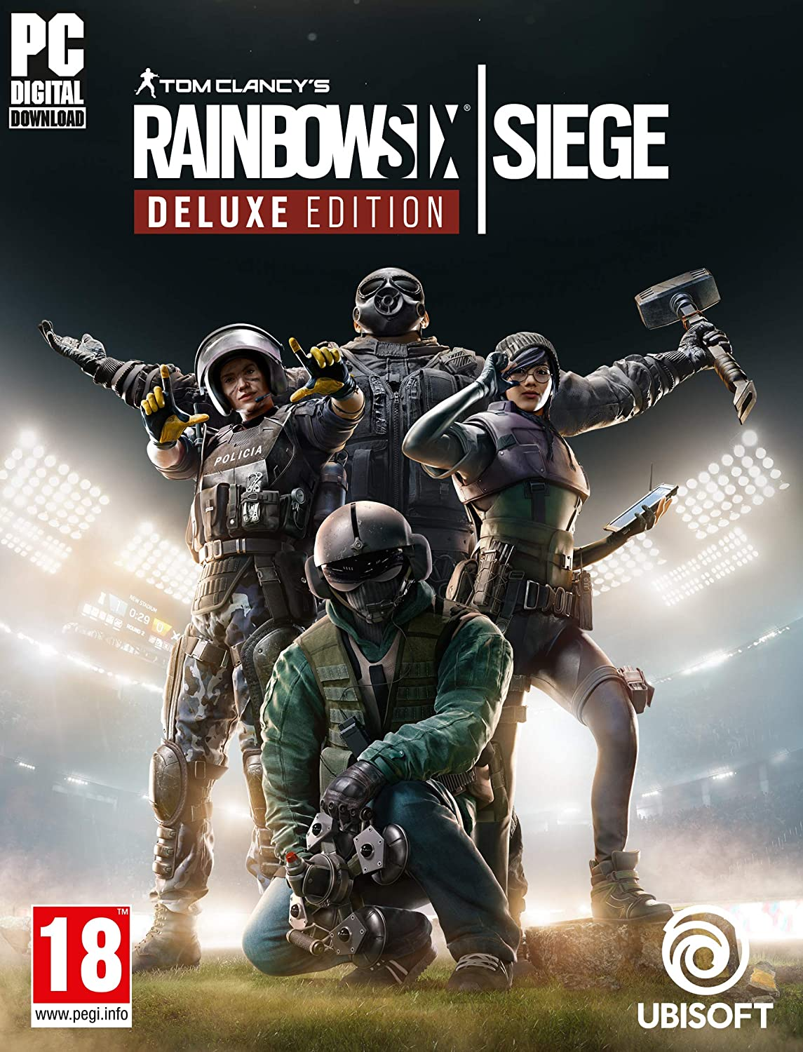Tom Clancys Rainbow Six Siege Deluxe Edition Year 5 | Código ...
