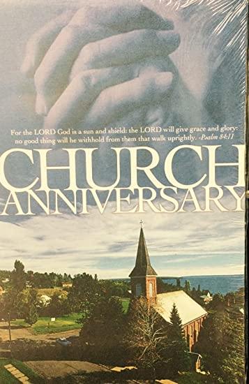 amazon com church anniversary psalm 84 11 pkg of 100 church