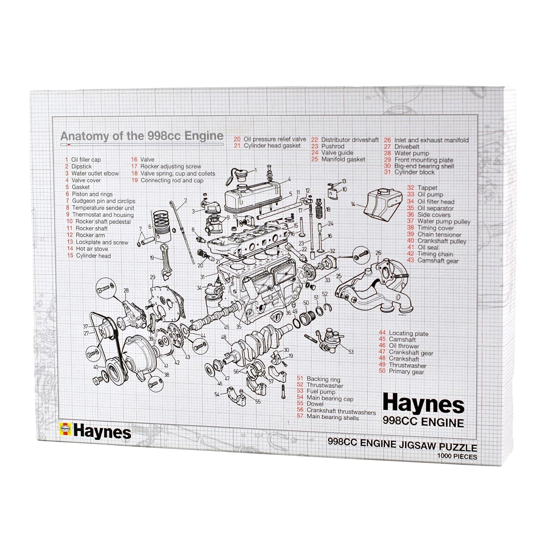 Haynes Engine Jigsaw Amazon Toys Games