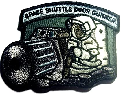 The Foliage Tactical Space Shuttle Door Gunner Patch Combat Army Morale Patch  sc 1 st  Amazon.com & Amazon.com: The Foliage Tactical Space Shuttle Door Gunner Patch ...