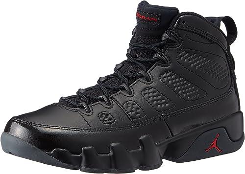 Jordan Men's Air 9 Retro, BLACK