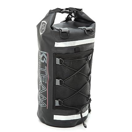 K3 Team Performance Pro-Tech 20 Liter Waterproof Backpack Dry Tube Black 2a2de47633