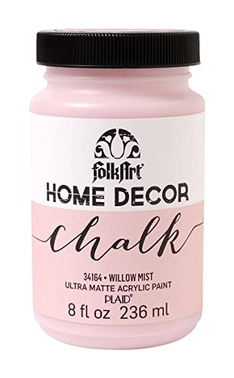 folkart home decor chalk furniture craft paint in assorted colors 8 ounce - Home Decor Chalk Paint