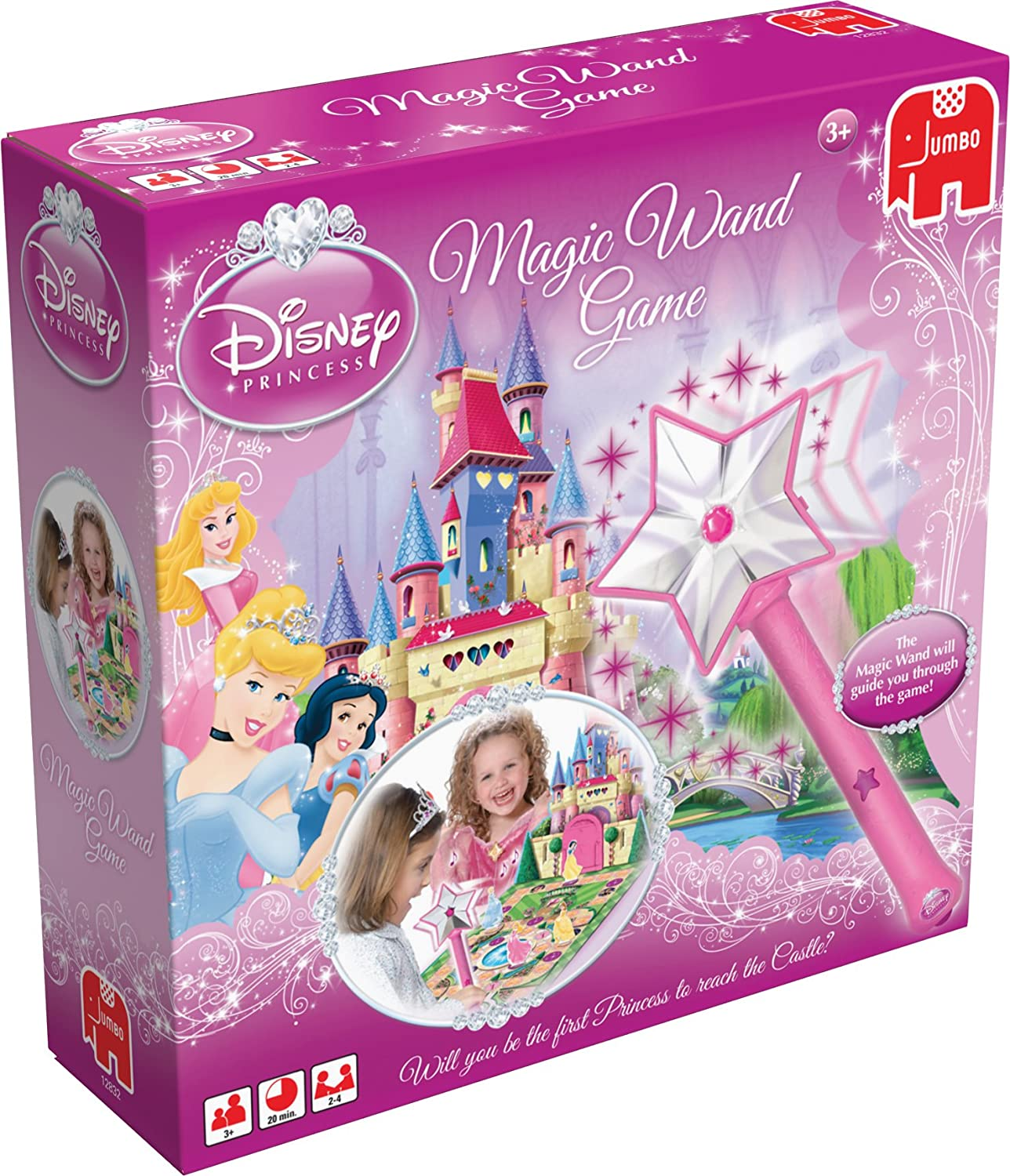 Disney Princess Magic Wand Game Amazon Toys & Games