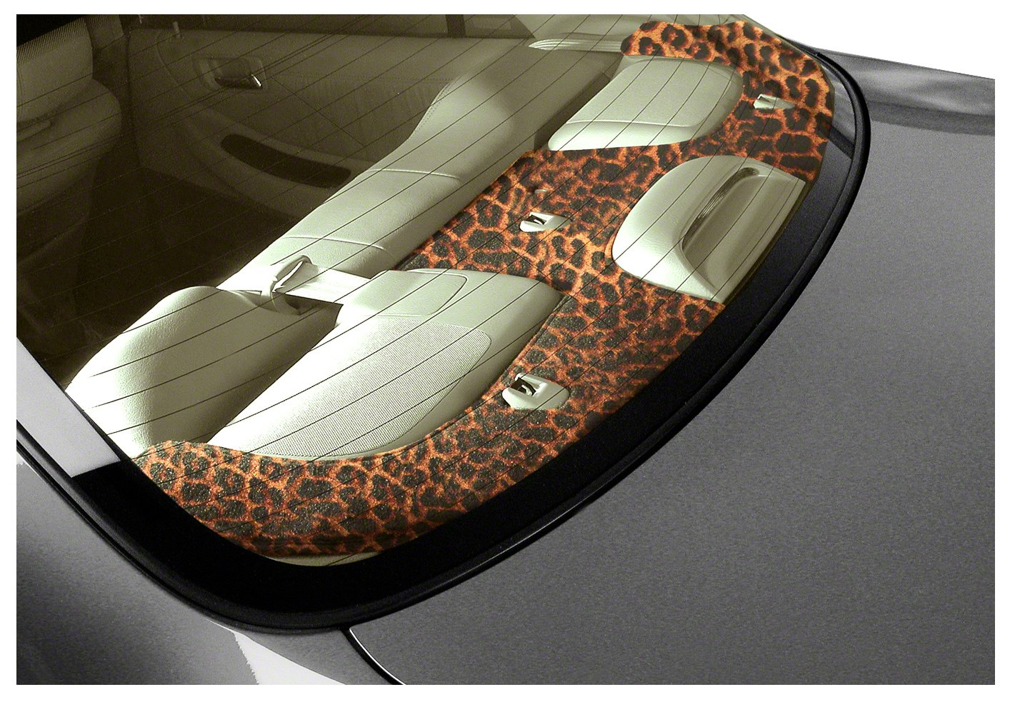 Coverking Custom Fit Dashcovers for Select Oldsmobile Cutlass Ciera Models - Velour (Cheetah) by Coverking (Image #1)