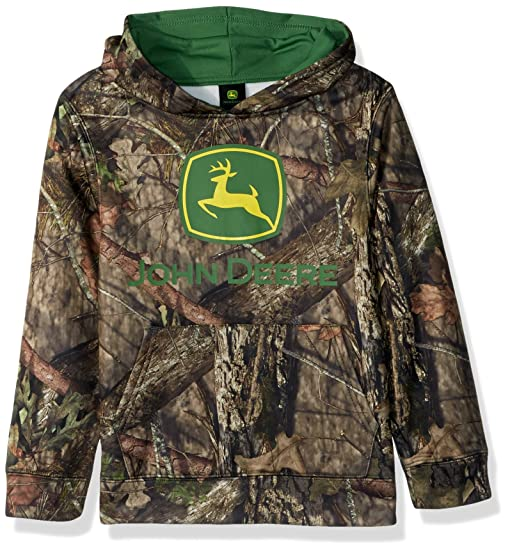 Amazon.com: John Deere Big Boys' Fleece Pullover Poly Hoody: Clothing