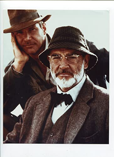 ab4a480a4bfc3 MOVIE PHOTO  Raiders of the Lost Ark-Indiana Jones and Sean  Connery-8x10-B W-Still at Amazon s Entertainment Collectibles Store