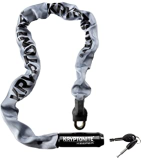 Kryptonite Keeper 785 Integrated Bicycle Lock Chain Bike Lock, 33.5-Inch