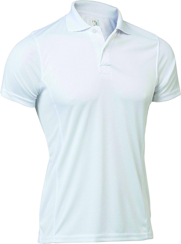 Unisex Erwachsene. 08//13 Technisches Polo-Shirt mit kurzen /Ärmeln Asioka glatt