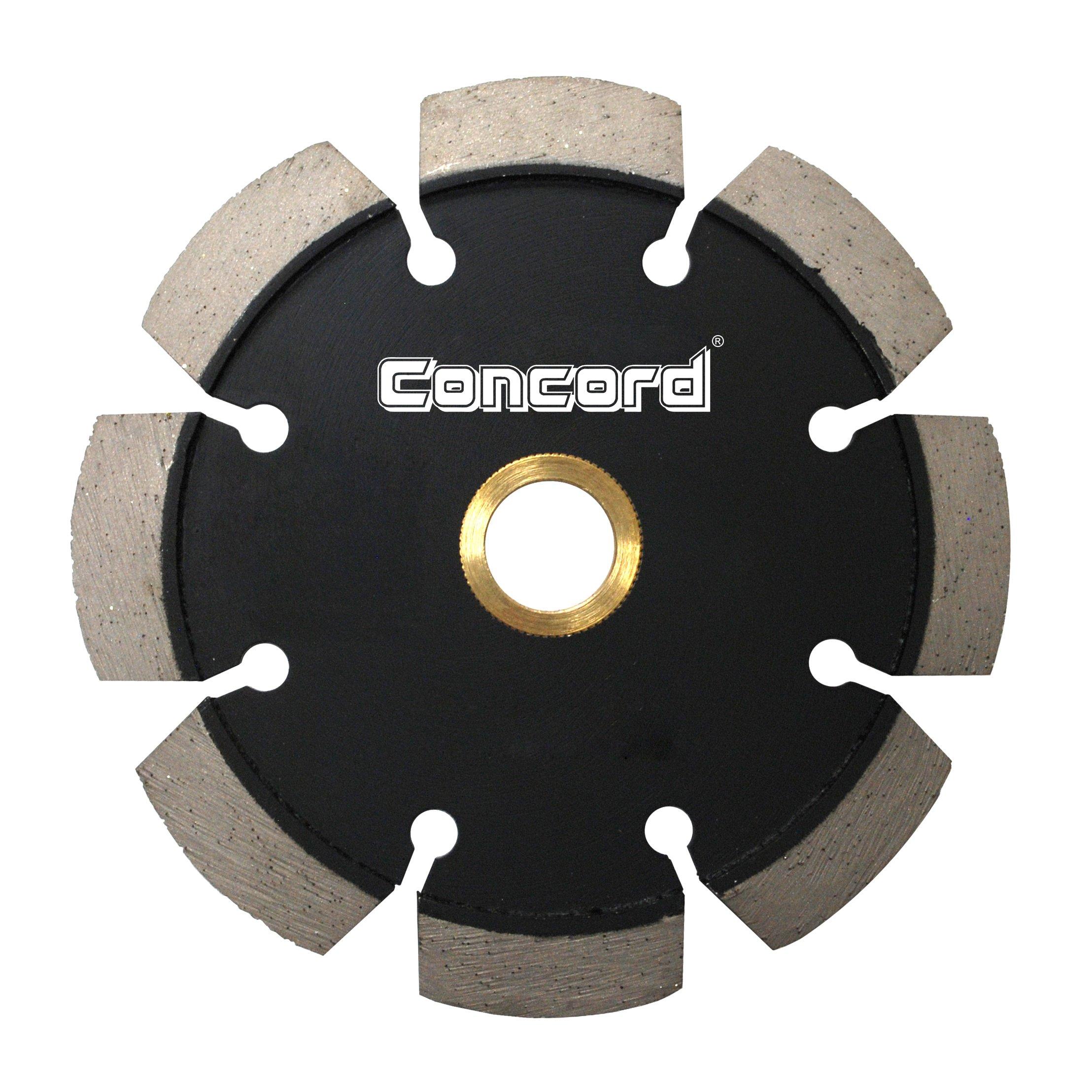 Concord Blades TCC045A9CP 4.5 Inch Laser Welded Crack Chaser Diamond Blade .375 Inch Segment width