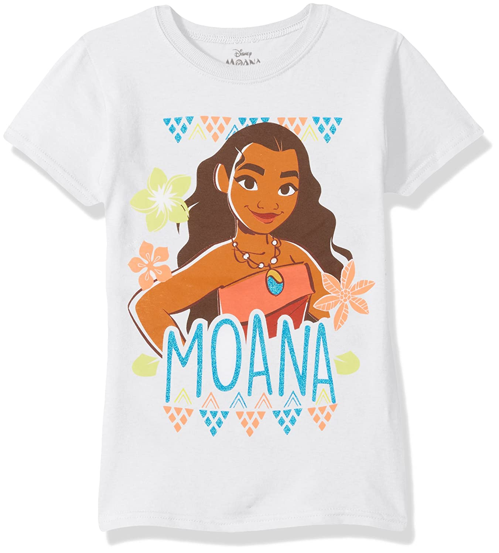 Disney Girls Moana Cap Sleeve T-Shirt Freeze Children' s Apparel