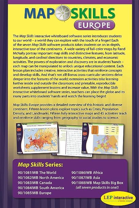 Amazon.com: Map Skills: Europe IWB CD: Ready-to-use Digital Lesson ...