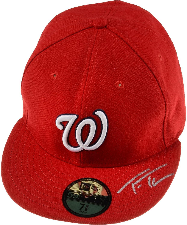 61eacf792 Trea Turner Washington Nationals Autographed New Era Cap - Fanatics ...