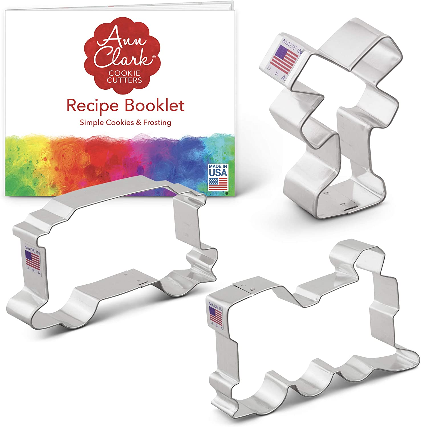 Details about  /Frame 3 Cookie Cutter 3 Sizes