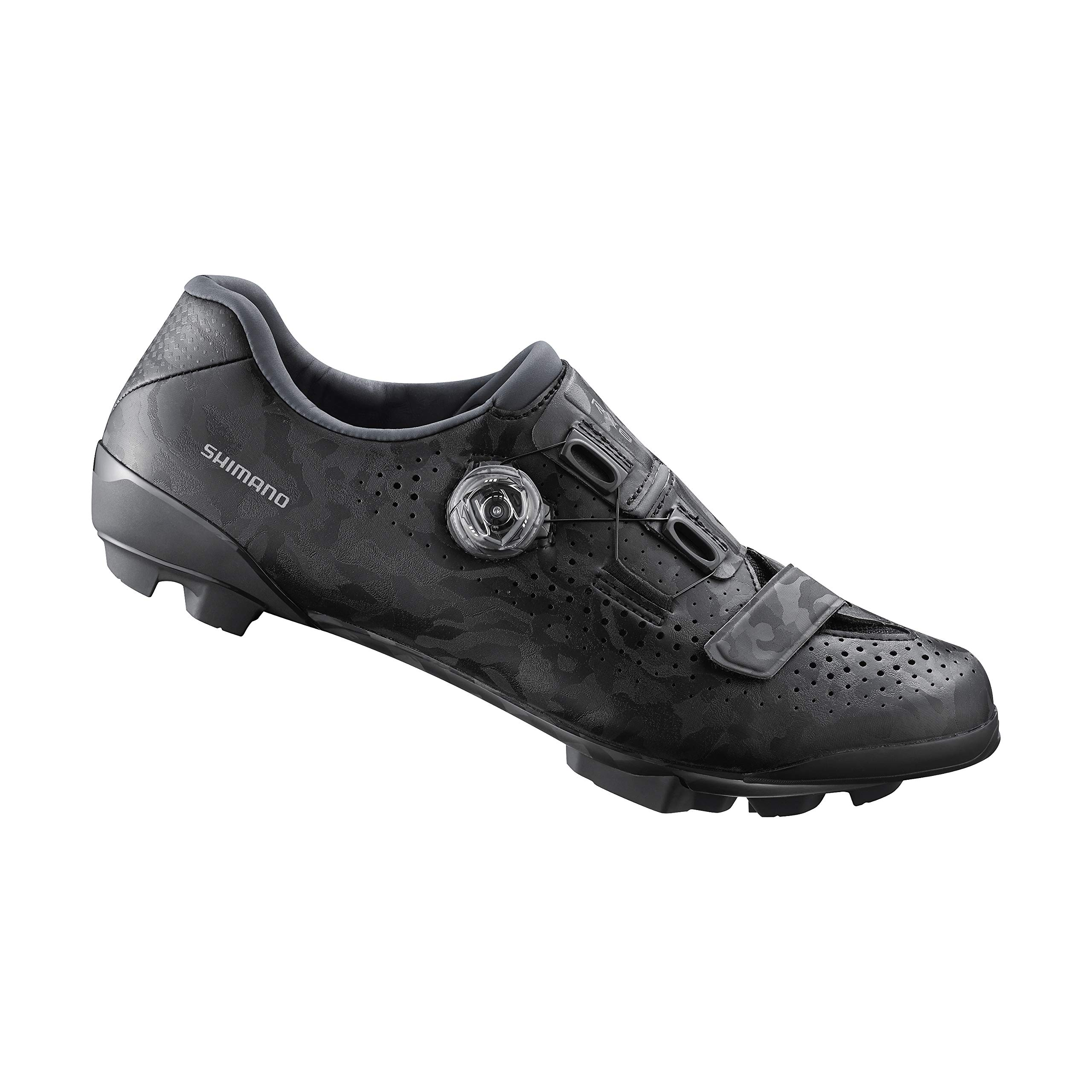 SHIMANO SH-RX800 Bicycles Shoes, Black, 47.0 by SHIMANO