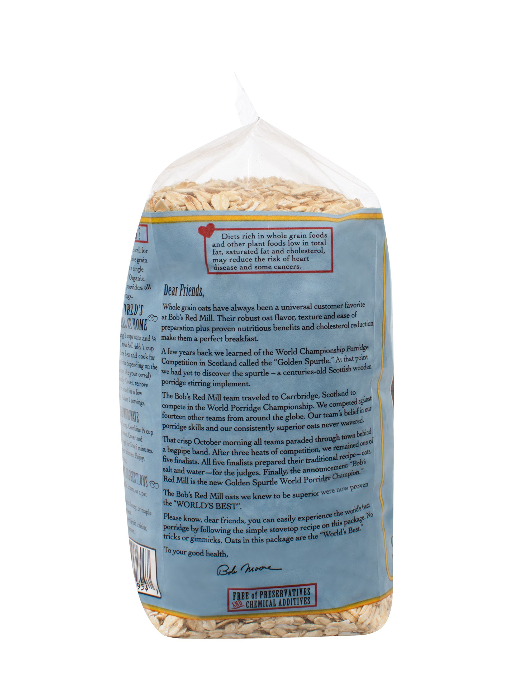 Bob's Red Mill - Organic Oats Rolled Thick, 32 Ounces by Bob's Red Mill (Image #4)