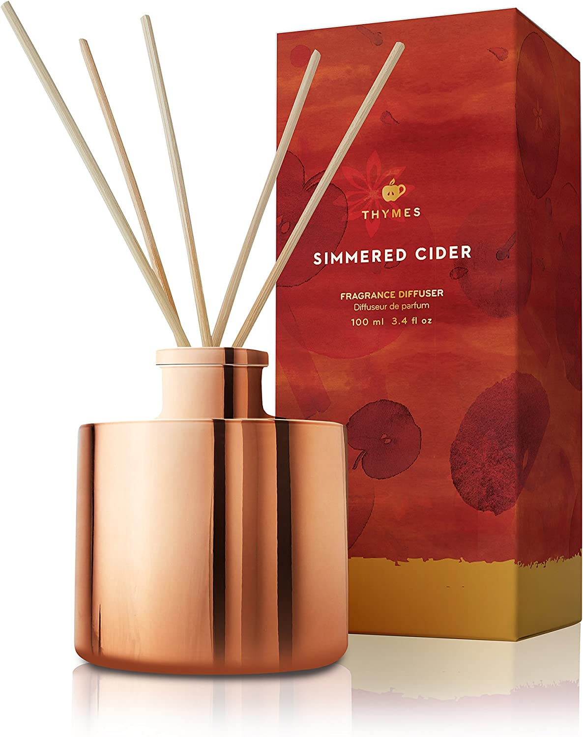 Thymes - Simmered Cider Reed Diffuser Petite 4oz