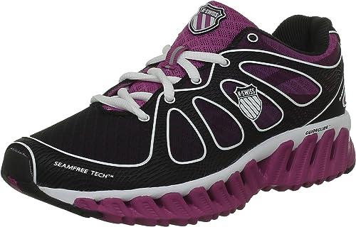 K-Swiss Blade-MAX Express - Zapatillas de Running de Tela Mujer: Amazon.es: Zapatos y complementos
