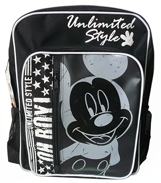 Mochila Disney Mickey Mouse (MK005) escolar bolsa, mochila, bolso ...