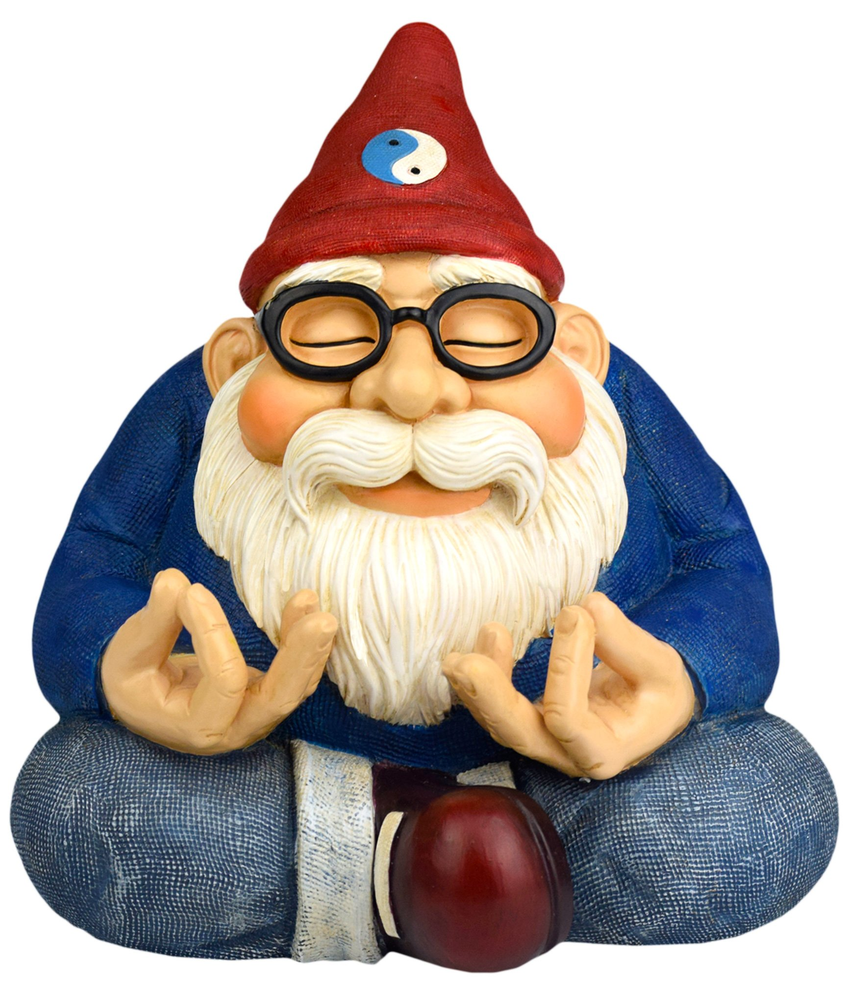 Twig & Flower The Ohm Gnome (Smiles and Serenity for Your Home Or Fairy Garden) by