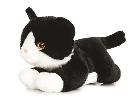 Luv To Cuddle Animale Di Peluche Gatto Nero Bianco Animale Da