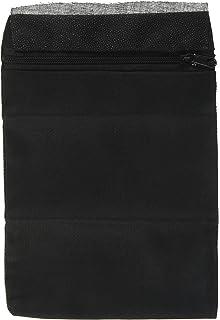 Sicherheitstasche zum Aufbügeln 17x14 cm schwarz