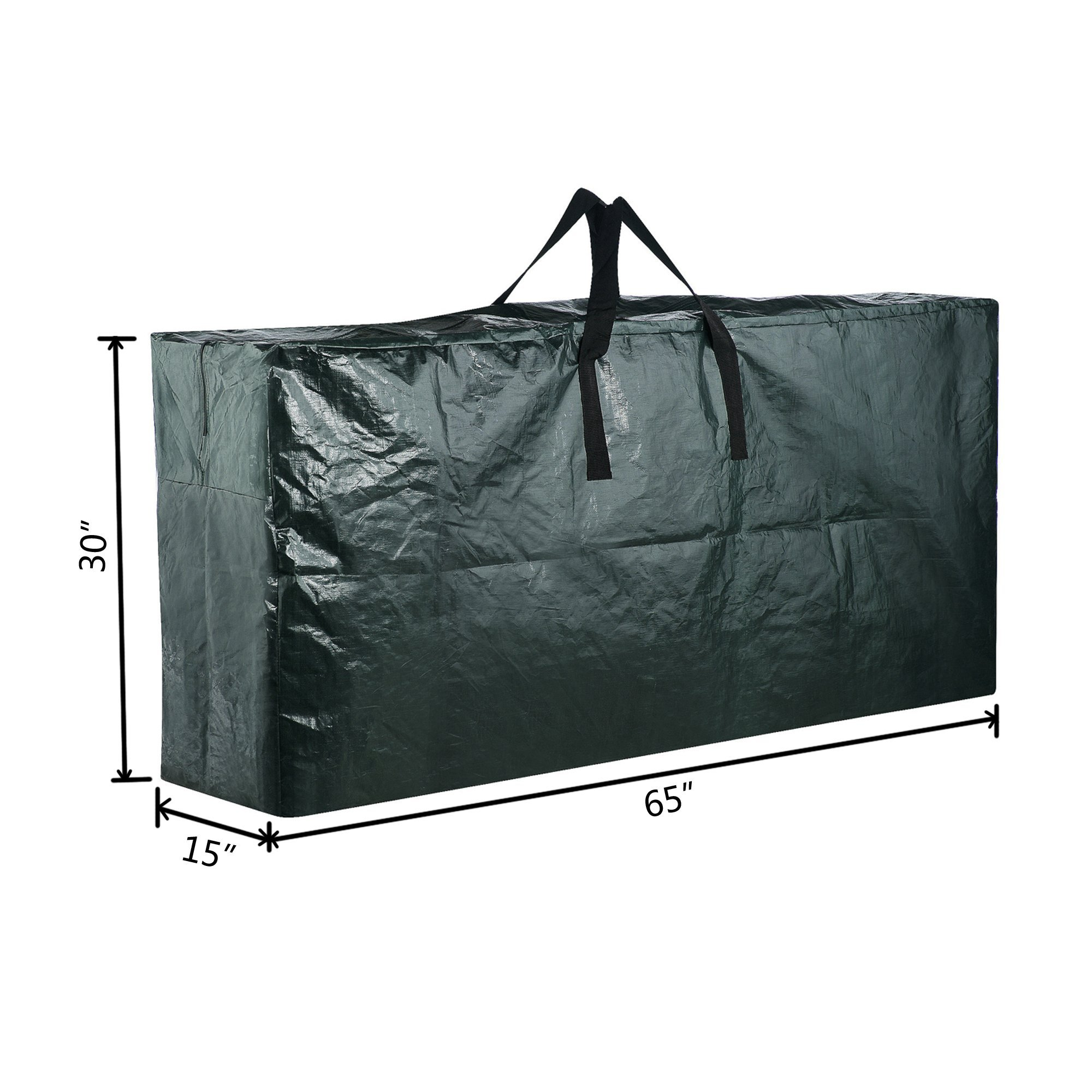 Elf Stor Premium Green Christmas Tree Bag Holiday Extra Large for up to 9' Tree Storage by Elf Stor (Image #2)