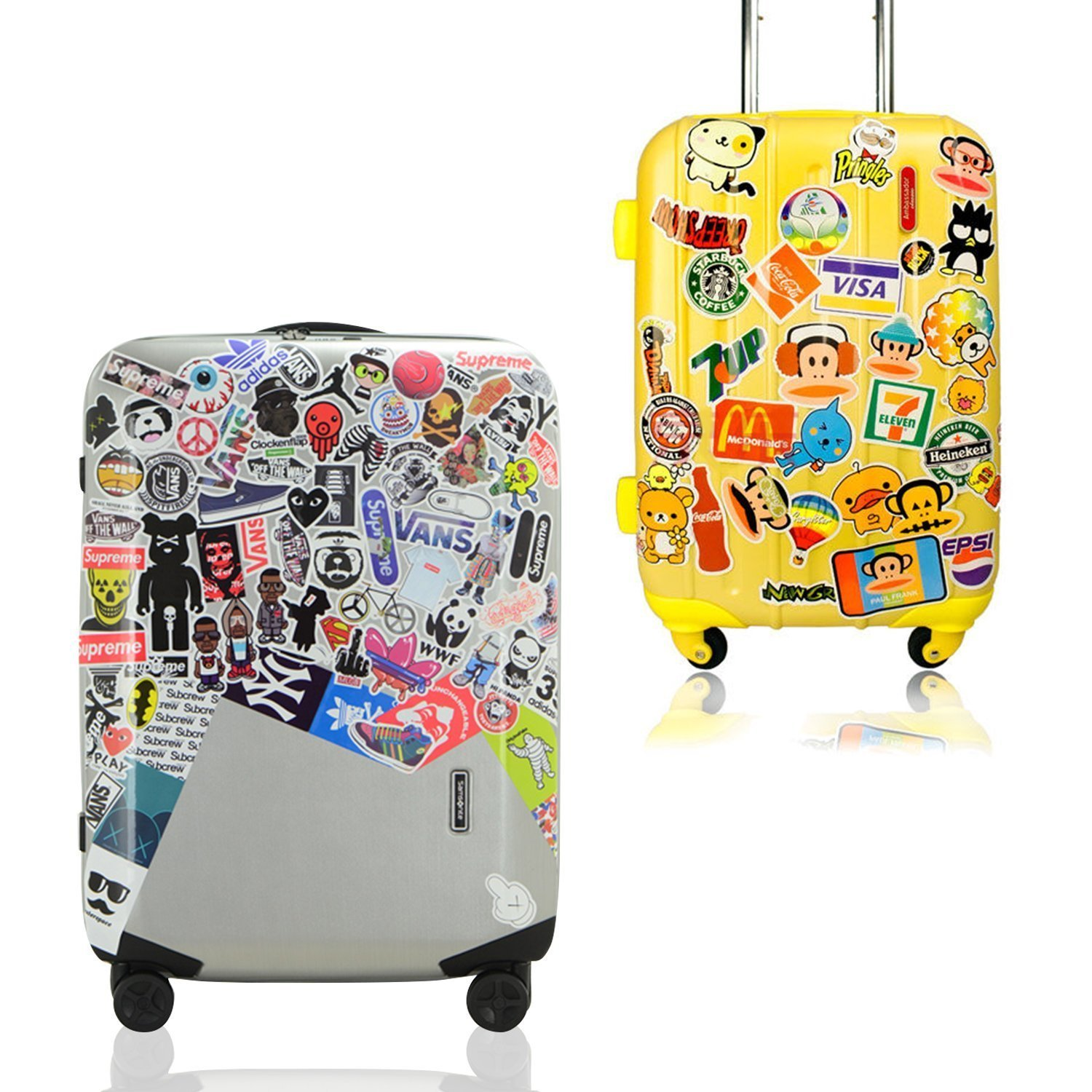 Sticker Pack [200pcs],Sanmatic Sticker Decals Vinyls for Laptop,Kids,Cars,Motorcycle,Bicycle,Skateboard Luggage,Bumper Stickers Decals Bomb Waterproof.