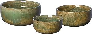 Emissary Home & Garden Lemon Green Bowls S/3, 10