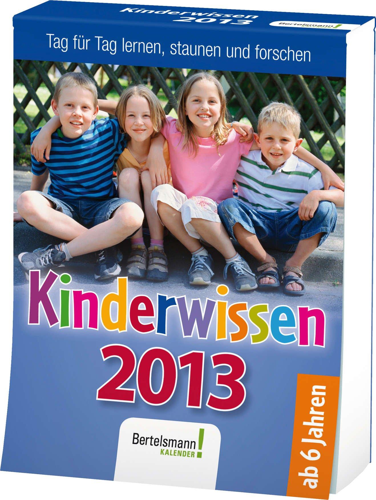 Kinderwissen 2013