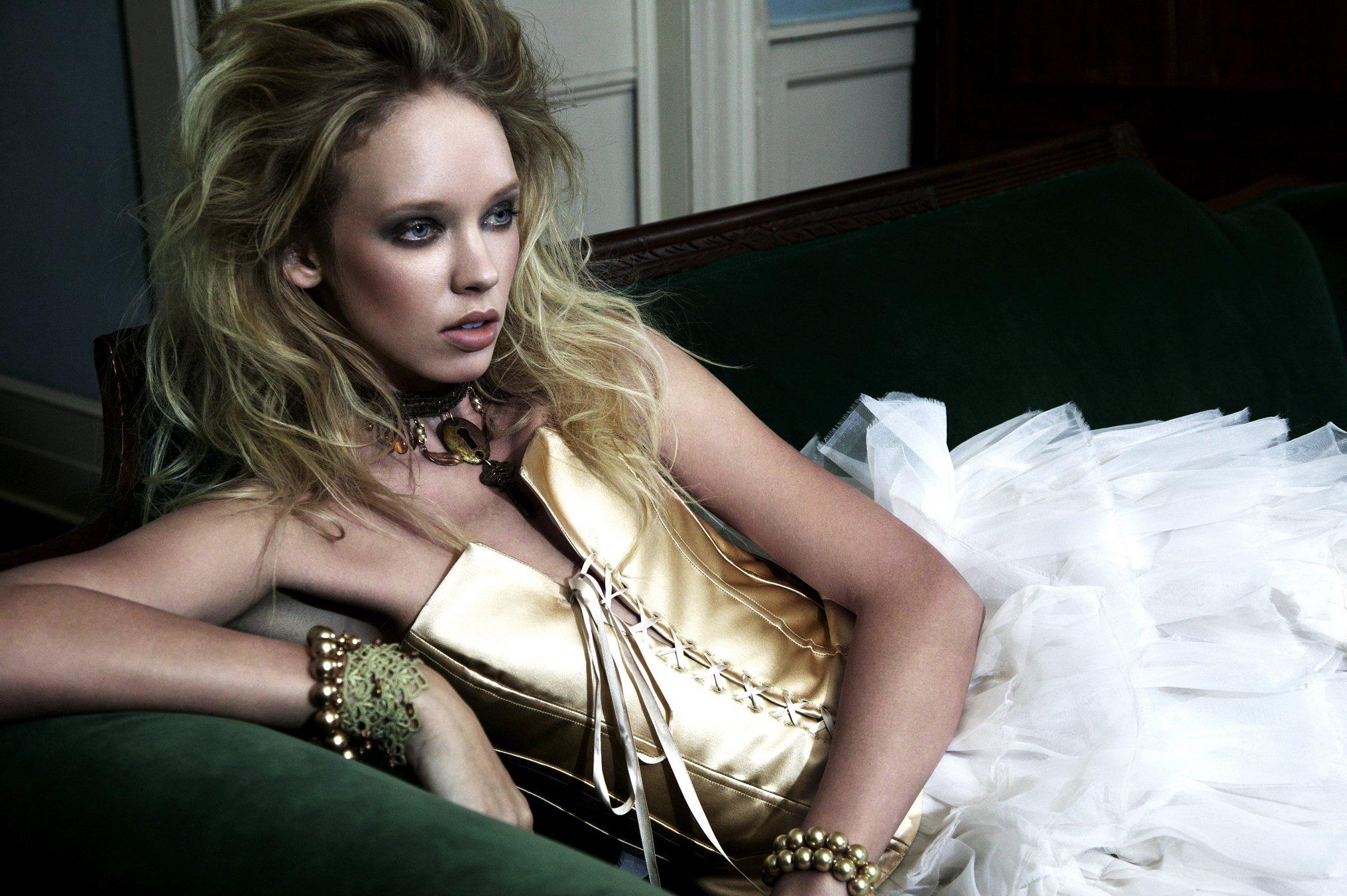 Bridal Separates Ivory Silk Satin Lace Front Corset