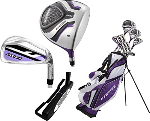 Ladies Petite Complete Women's Golf Club Set Ladies, Right Hand, -1-inch, Purple